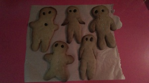 naked gingerbread men