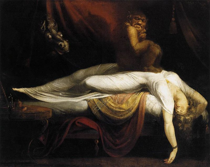 800px-Johann_Heinrich_Füssli_nightmare-_The_Nightmare_-_WGA08332