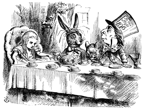 Alice_tea_party_John_Tenniel_25
