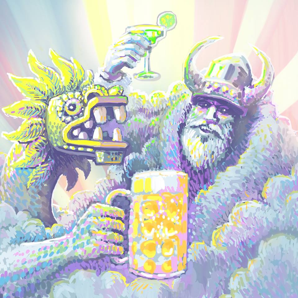 quetzalcoatl_wodan_thor_drinking_buddies