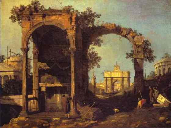 oil-painting-capriccio-ruins-and