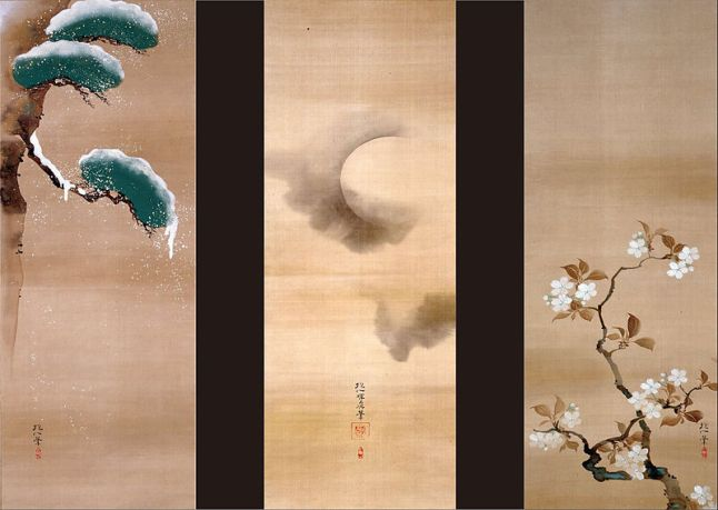 800px-Sakai_Hoitsu_-_SNOW,_MOON_AND_FLOWERS_-_Google_Art_Project