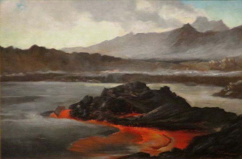 Kilauea_volcano_charles_furneaux_1884