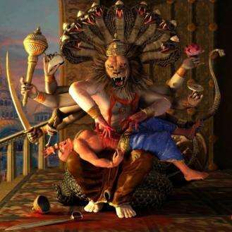 Narasimha_Killing_Hiranyakasipu